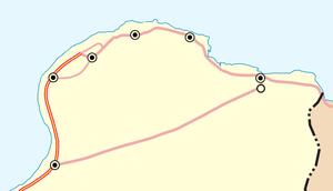 Tobruk–Ajdabiya Road - Image: Tobruk Agedabia road