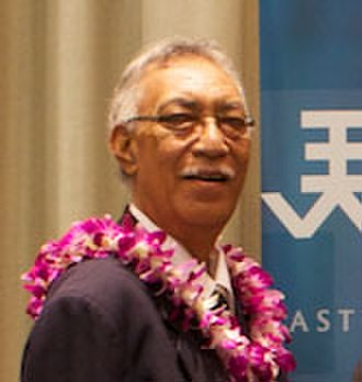Niue - Premier Sir Toke Talagi in Hawaii in 2011.