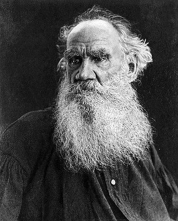Лев Толстой в преклонных годах. Начало XX века