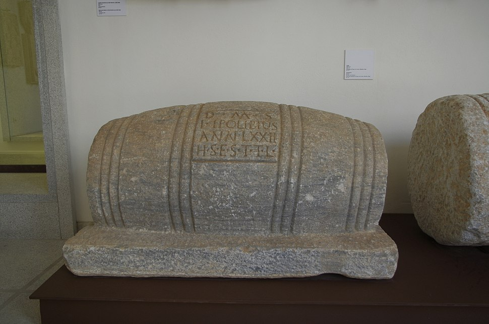 Tombstone of a Wine Maker, Museu de %C3%89vora - Apr 2011
