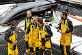 Tonnerres de Brest 2012 - Equipage du Spindrift Racing - 005.jpg