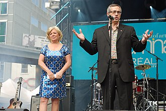 Tony Clement - Tony Clement speaking at Luminato 2010 in Toronto.
