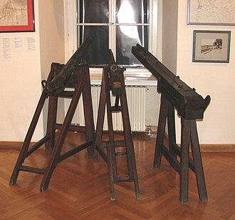 Lotrščak Tower - Image: Topovi za oglašavanje podneva