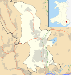 Cwmbrân is located in Torfaen