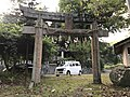 Torii of Suga Shrine in Uchino Oimatsu Shrine.jpg