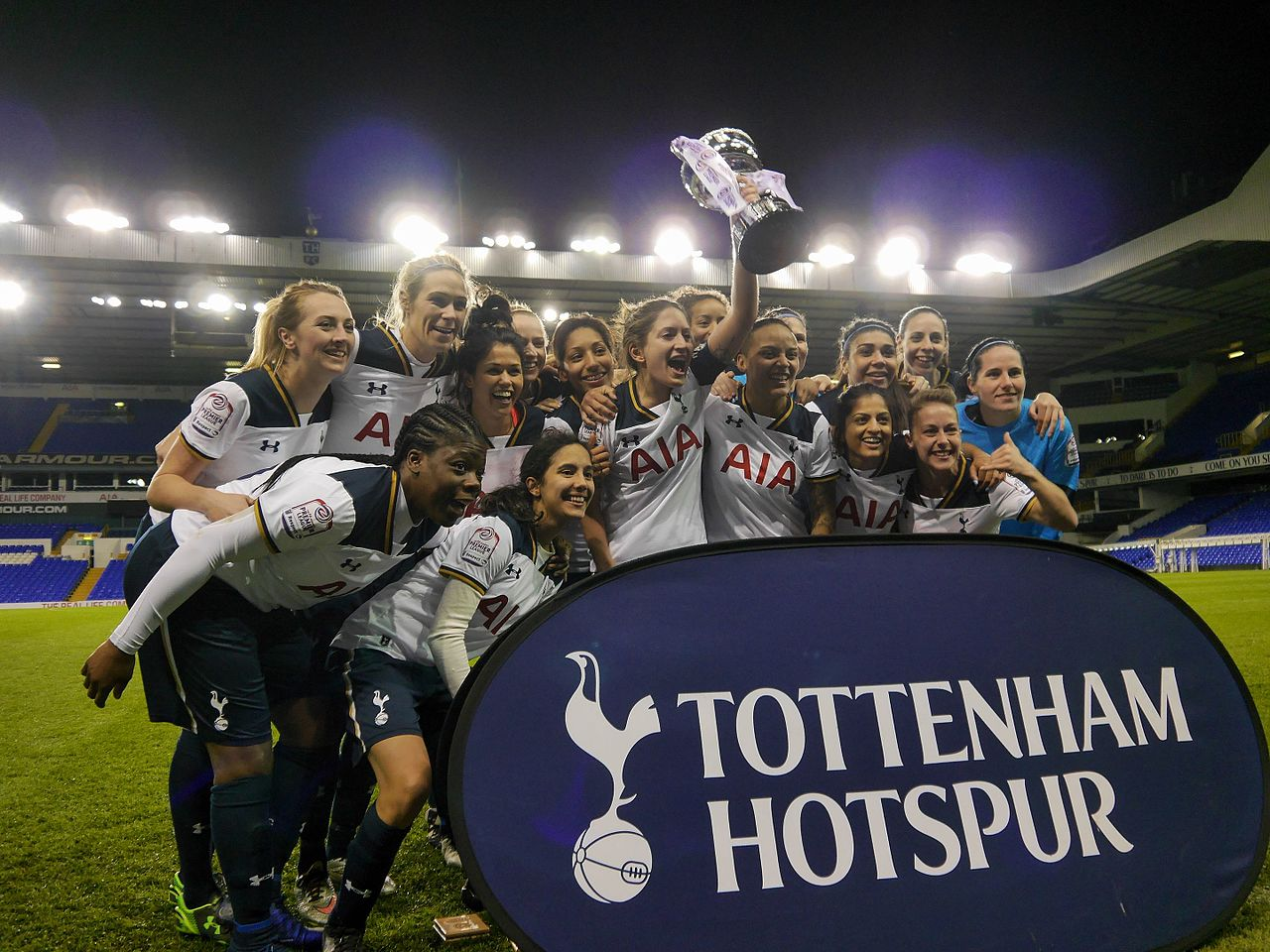 File:Tottenham Hotspur LFC v West Ham United LFC, 19 April ...