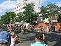Tour de France 2016 - dernière étape Colombes - Tête de la course.jpg