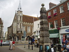 Town Pump and the Corn Exchange - geograph.org.uk - 32709.jpg