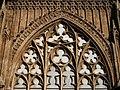 Traceries gòtiques del cimbori, catedral de València.JPG