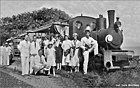 Tramways of 'Mosqueiro' Estado do Pará Brasil - 'Pata Choca' steam locmotive, ca 1931-1933 (Col. Luiz Anciães).jpg