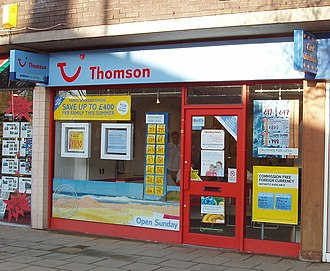TUI UK - A Thomson travel agency in Formby, Merseyside
