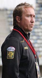 Trent Robinson Australian rugby league coach and footballer