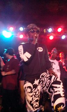 Trinidad James Performing in Atlanta; 2013 2014-05-21 22-47.jpg
