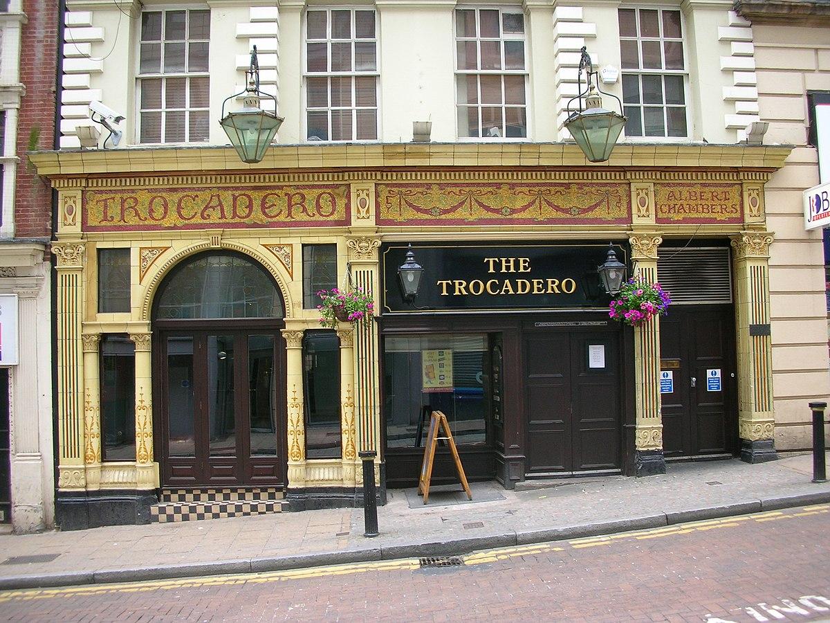 Trocadero Birmingham Wikipedia