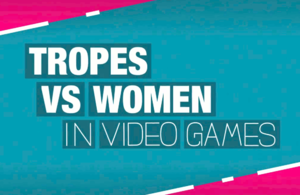 Anita Sarkeesian - Title card used in the Tropes vs Women videos