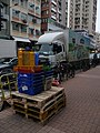Trucks and moving supplies in Yuen Long.jpg