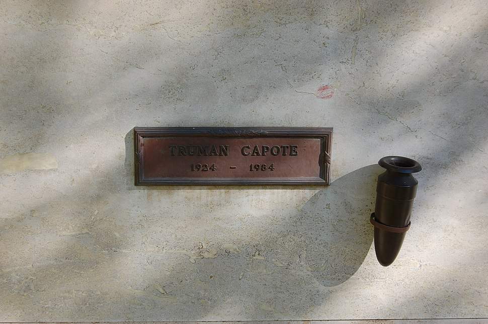 Truman Capote grave at Westwood Village Memorial Park Cemetery in Brentwood, California