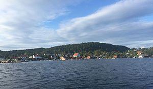Søgne - View of Trysnes in Søgne
