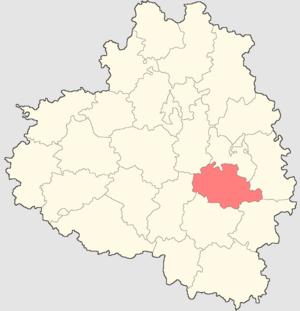 Bogoroditsky District - Image: Tulskaya oblast Bogoroditsky rayon