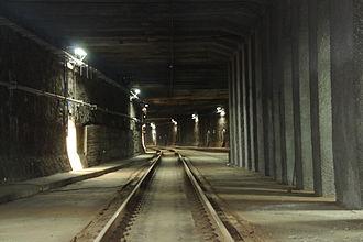Warsaw Cross-City Line - Image: Tunel Średnicowy Warszawa (6)