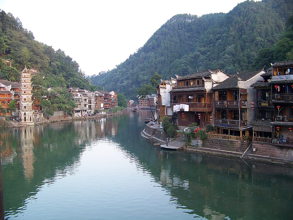 Tuojiang in fenghuang