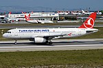 Turkish Airlines, TC-JUJ, Airbus A320-232 (16268653478) (2).jpg