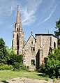 Turm der Elisabethkirche und Franziskuskapelle Marburg.jpg