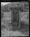 Typical privy. Fox Ridge Mining Company, Inc., Hanby Mine, Arjay, Bell County, Kentucky - NARA - 541142.tif