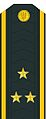 Kapitan of the 1st rank insignia of the Ukrainian Navy (1995-2016)