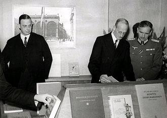 Amsterdam University Library - Exhibition The German scientific book (1941)