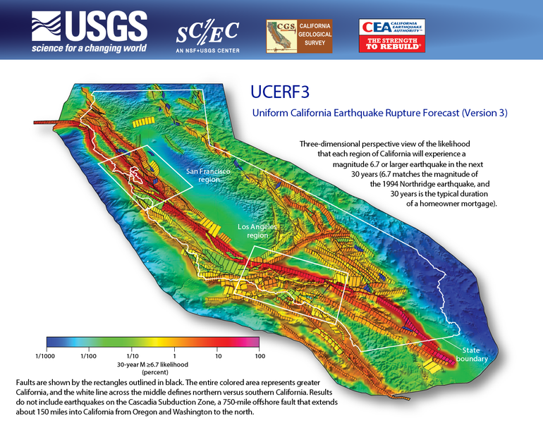 California Earthquake Rupture Forecast
