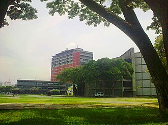 Central University of Venezuela - Central Library and Aula Magna