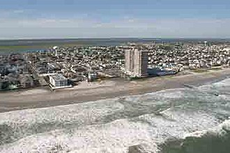 Margate City, New Jersey - Atlantic Ocean shoreline