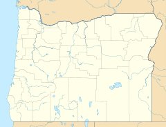 Map showing the location of Willamette Floodplain