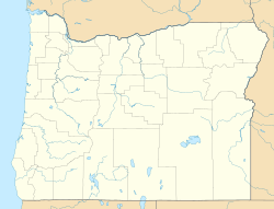 Luper, Oregon is located in Oregon