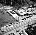 USGS - 1971 San Fernando earthquake - Scarp at Foothill Nursing Home - Overhead view.jpg