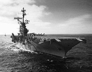 USS Bon Homme Richard (CVA-31) with new SPS-43 radar 1962.jpeg