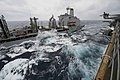 USS Bonhomme Richard conducts a replenishment-at-sea. (12994242814).jpg