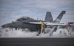 USS Dwight D. Eisenhower conducts flight operations. (26314263512).jpg