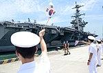 USS George Washington arrives in Busan 140711-N-UH865-029.jpg