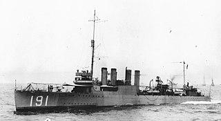 USS <i>Mason</i> (DD-191)