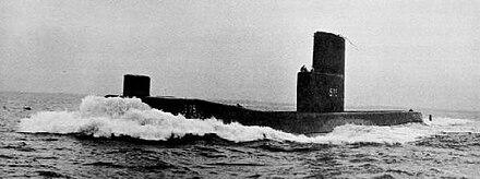 1955  U-Boot 1:1250 ARIA MASTER USS Seawolf SSN-575