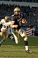 US Navy 041204-N-9693M-007 U.S. Naval Academy Quarterback Aaron Polanco, from Wimberley, Texas, rushes the goal line for the Navy's first touchdown during the second quarter of the 105th Army vs Navy game.jpg