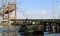 US Navy 050910-M-5901F-002 U.S. Marines aboard an amphibious assault vehicle (AAV) search the areas around the Chalmette Bridge for survivors of Hurricane Katrina.jpg