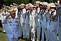 US Navy 060616-N-2383B-039 Chief of Navy Staff, Indonesian Navy Adm. Slamet Soebijanto inspects the troops during a full honors welcome ceremony in his honor at the Washington Navy Yard.jpg