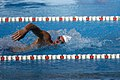 US Navy 071016-N-9818V-056 Air Force 2nd Lt. Christopher Knaute competes in the 400-meter swim at the 4th Conseil Internationale du Sport Militaire's Military World Games.jpg