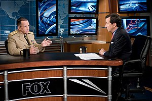 Fox News Sunday - Chris Wallace interviewing Chairman of the Joint Chiefs of Staff U.S. Navy Adm. Michael Mullen in 2008.