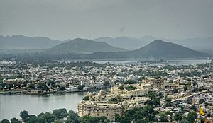 Udaipur - Udaipur's Landscape during Monsoon