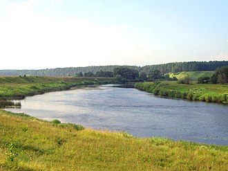 Ugra River (Oka) - A picture of the river.