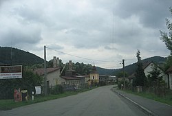 Skyline of Ujčov